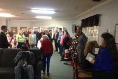 Christmas Caroling/Outreach